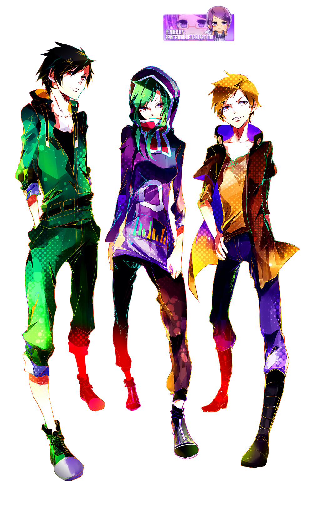 Render Kagerou Project