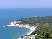 Cleanest Beaches in Italy: Along the Adriatic in Le Marche (sea portonovo)