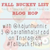 Fall Bucket List 2012