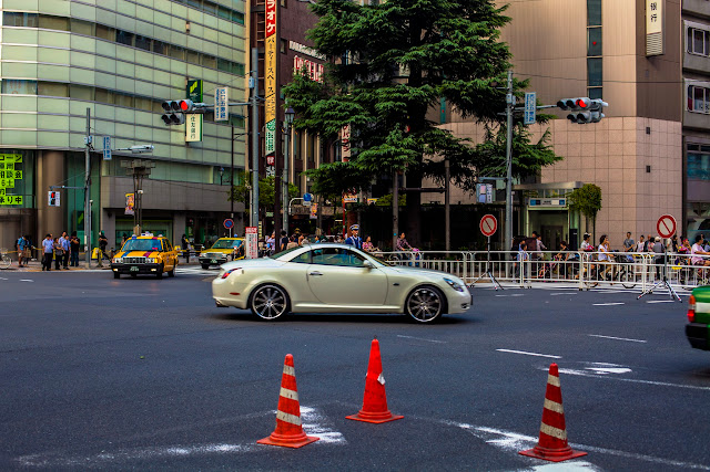 Coche en Ikebukuro