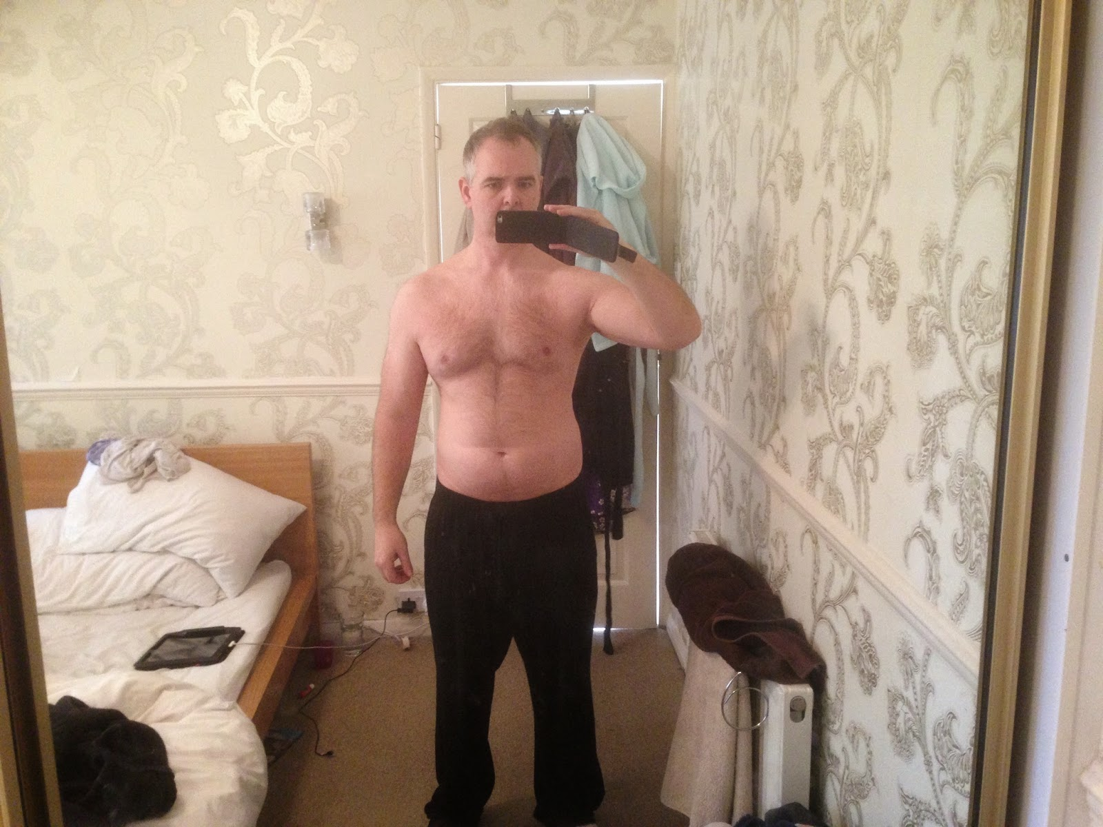 Body transformation week 1
