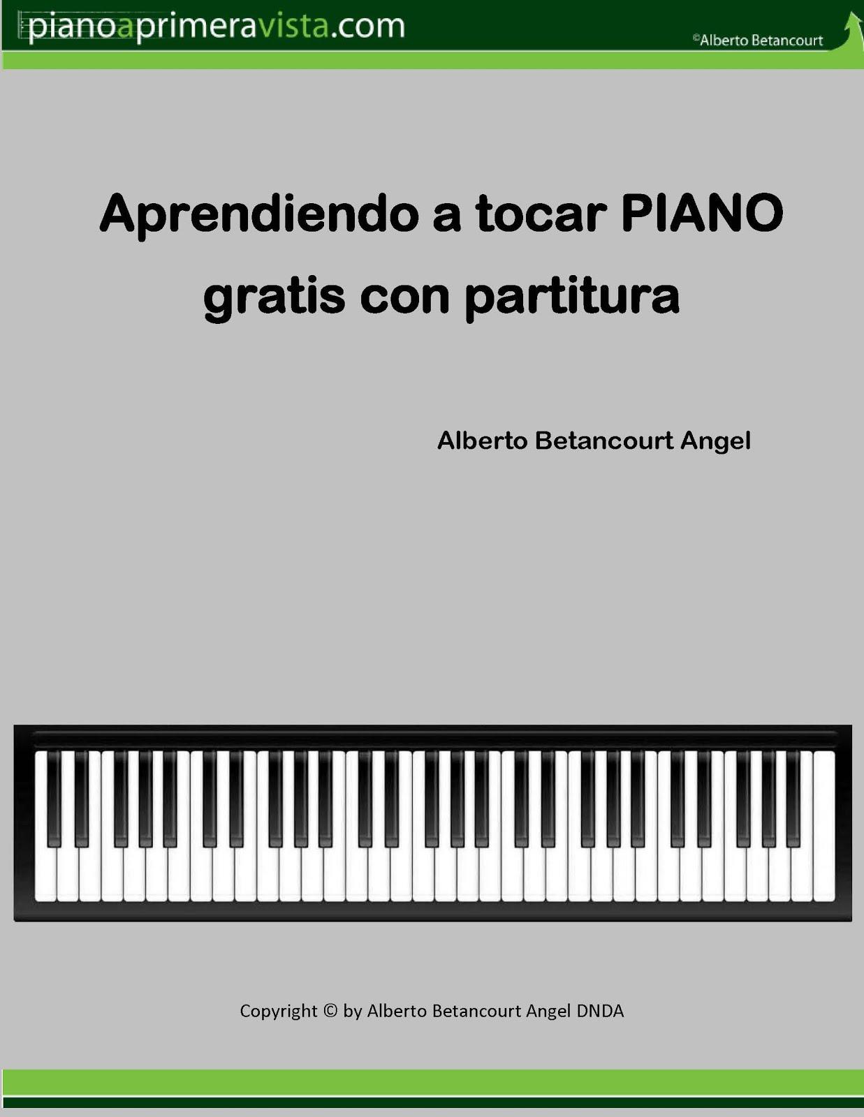 Iniciación al PIANO