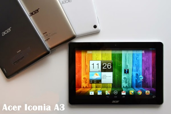 Harga Tablet Acer Iconia A3