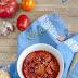 Chorizo w sosie pomidorowym z fasolą