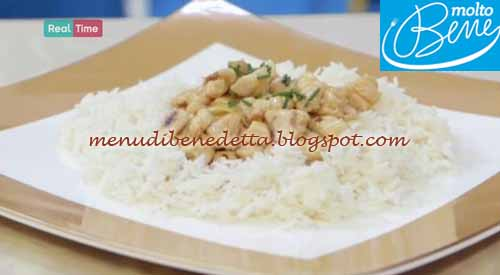 Pollo alle mandorle ricetta Parodi per Molto Bene