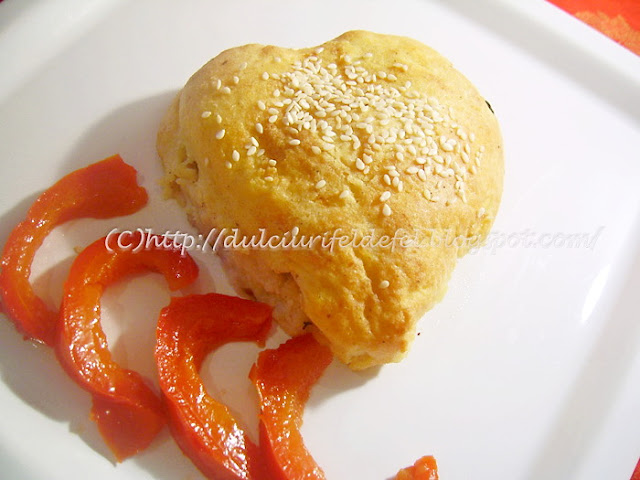 Pulpe de pui in crusta de cartofi