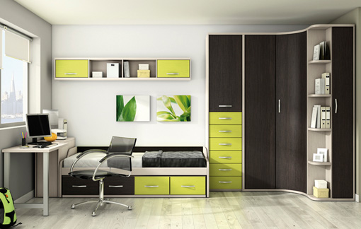 Dise o del mueble ince for Muebles para habitaciones