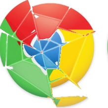 Google Chrome quebrado