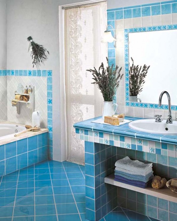 Loseta Ceramica Para Baño:Bathroom Tile Design