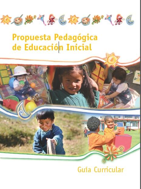 for Programa curricular de educacion inicial