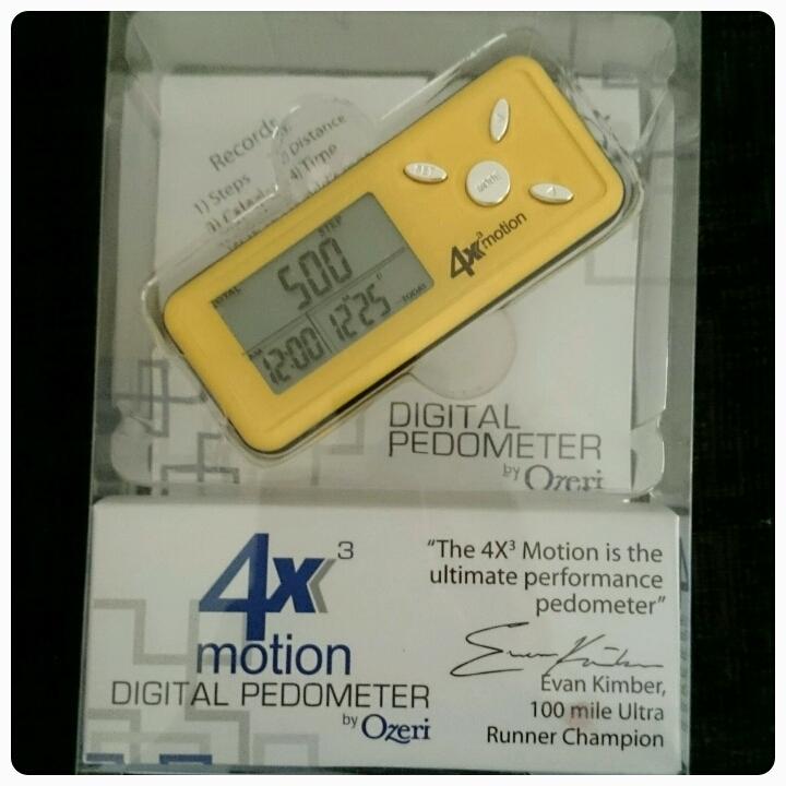 ozeri digital pedometer