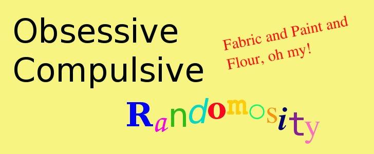 Obsessive Compulsive Randomosity