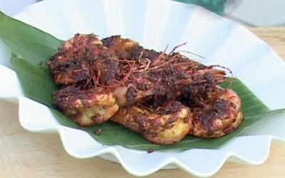 Resep Masakan Tumis Udang Spesial Bumbu Kacang