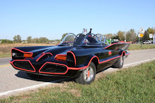 Fiberglass Freaks' licensed 1966 Batmobile Replica