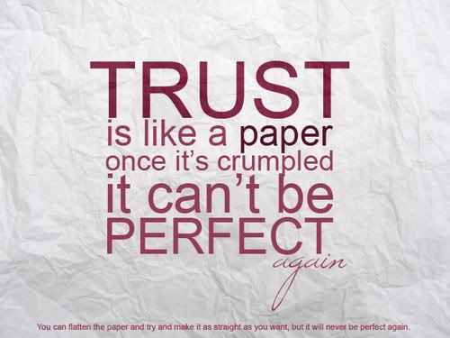 quotes about trust and love. trust and love quotes. quotes