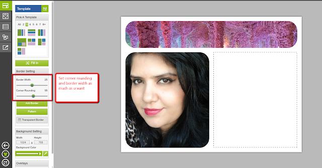 blogger card