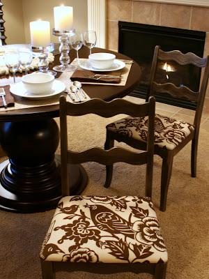 Manera de cambiar el tapiz de las sillas del comedor | Decoracio ...