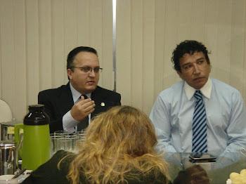 Senador Pedro Taques e Sanador Magno Malta