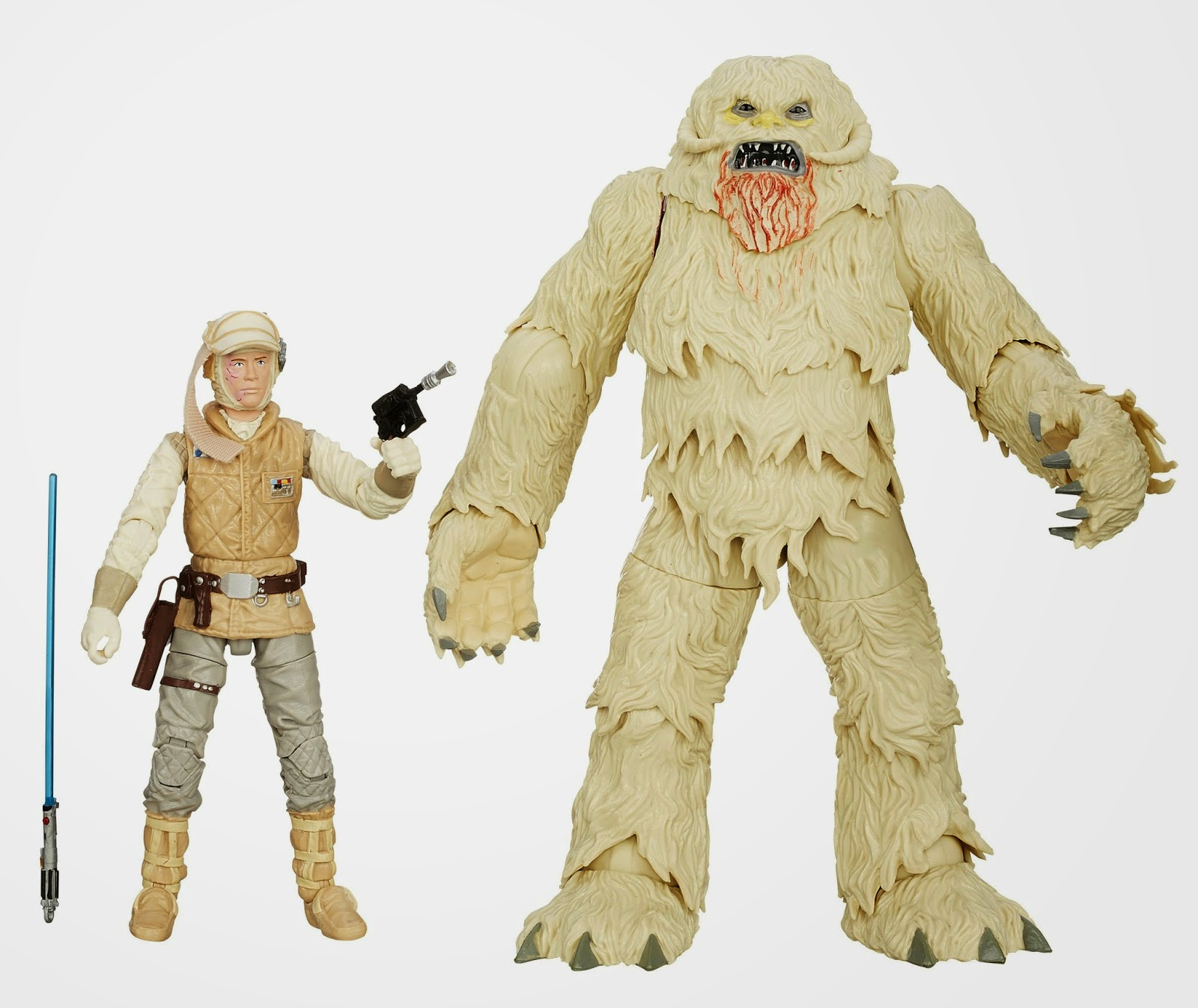"Hasbro - Star Wars - 6"" Inch Black Series - Luke Skywalker and Wampa"