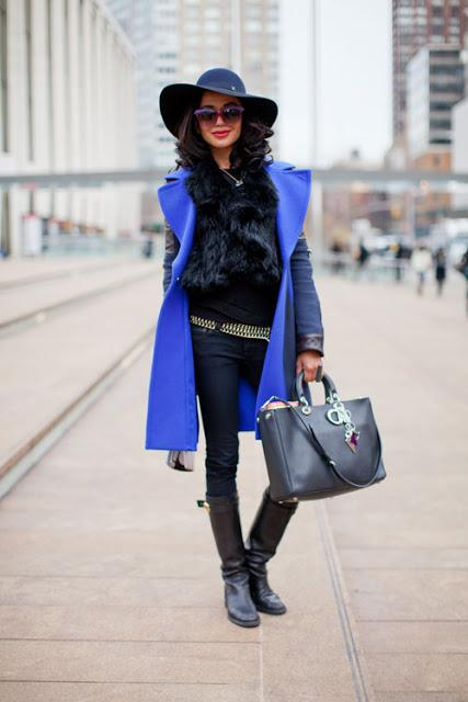Streetstyle Electric Blue