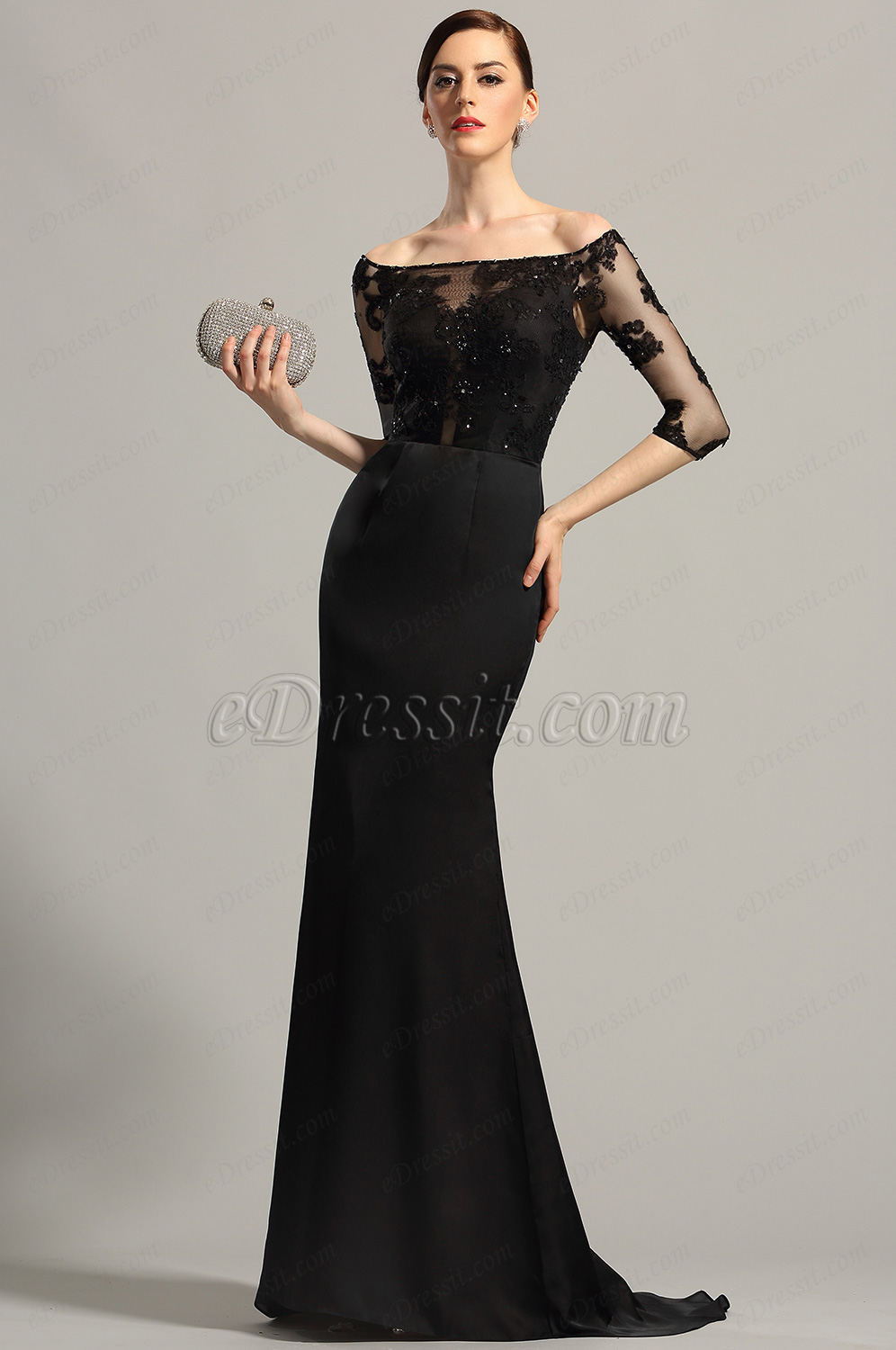 SIMPLE ELEGANCE: Affordable Prom Dresses-Black Collection