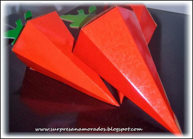cenoura páscoa papel