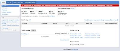 Daftar Adsense Sedang di Proses oleh Google Adsense