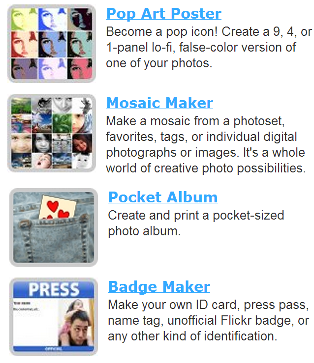 Photo Mosaic Maker Pop Art Poster Pocket Album Fake Badge ...