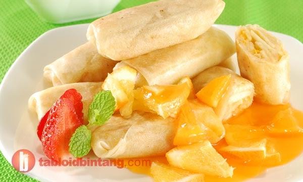 Lumpia saus Mandarin | Cara Membuat Resep Makanan Lengkap