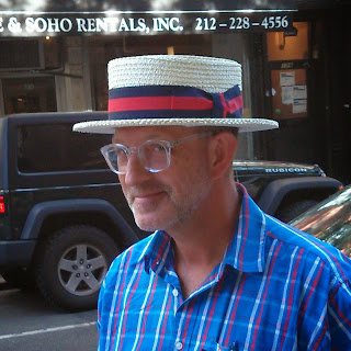 Skimmer hat, boater hat from The Hat House NY 347-640-4048