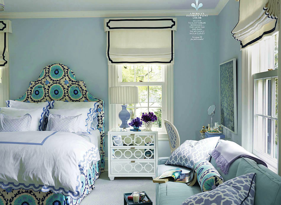 Haus and home quadrille in your closet for House beautiful bedrooms