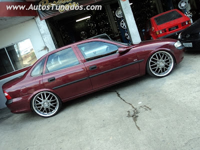 Chevrolet Vectra rebaixado