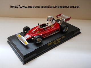 Ferrari 312T F1 collection de Altaya Niki Lauda (1975)