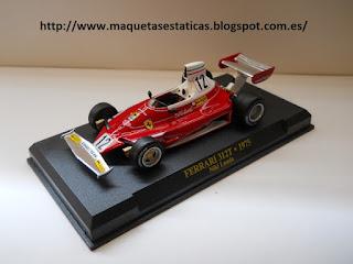Ferrari 312T F1 collection de Altaya Niki Lauda (1975)
