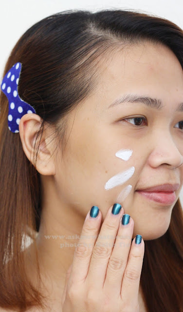 A photo of Etude House Correct & Care CC Cream Silky how to use