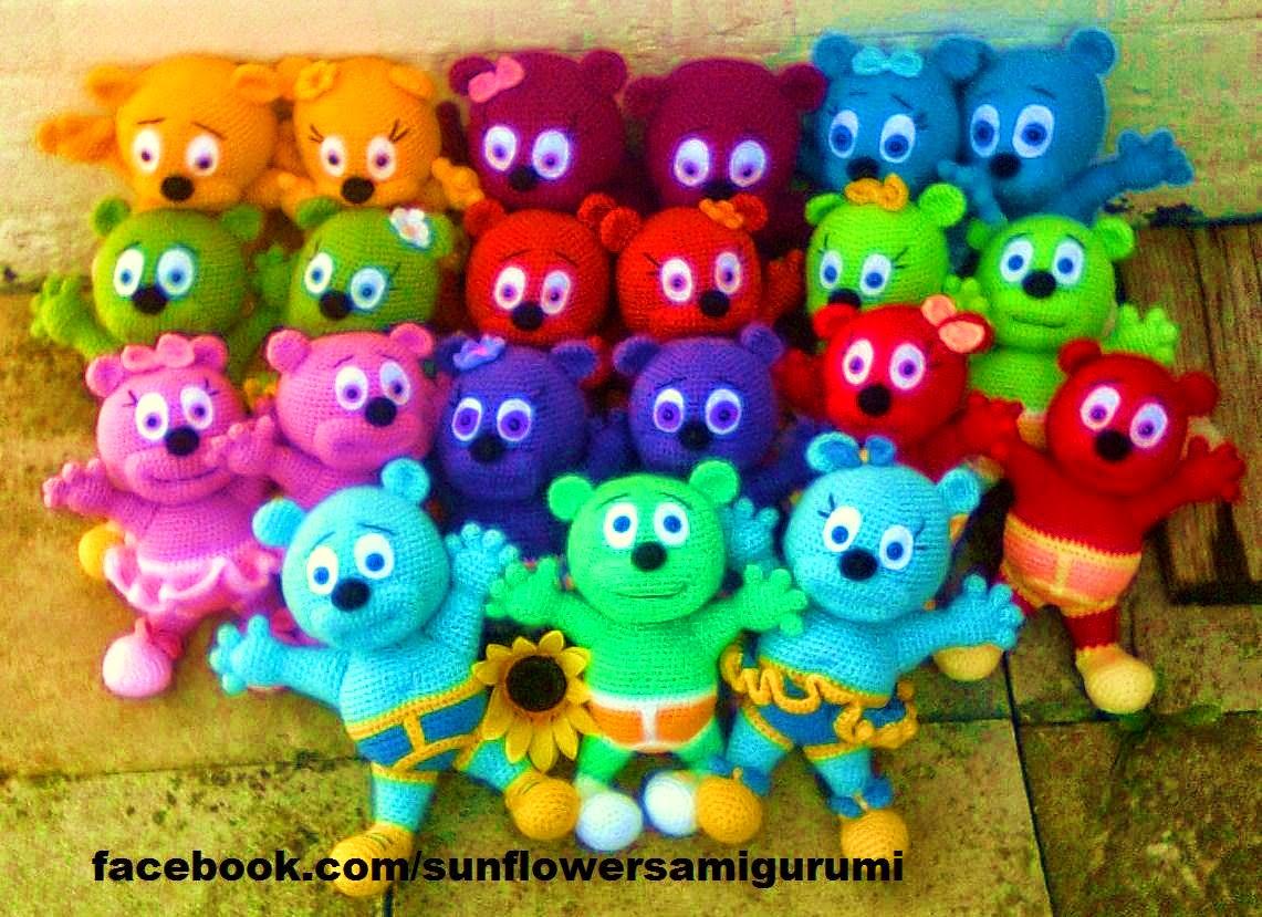20+1 kummikommikaru.20+1 Gummy Bears. - Knitting, Crochet ...