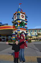 Polkadots Parade Legoland California Holiday Snow Days