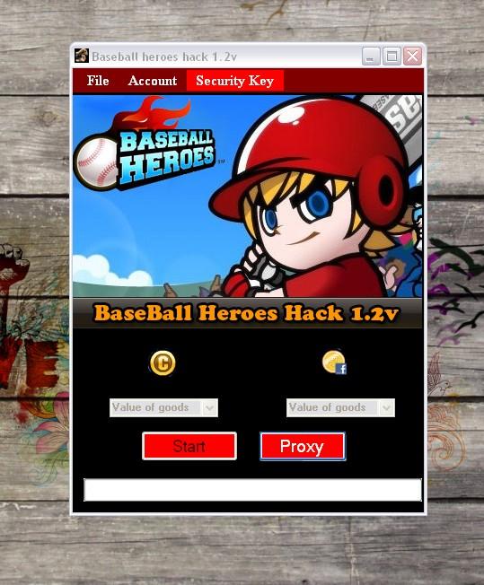 Baseball Heroes Hack tool 1.2v [Coins, Facebook credits]