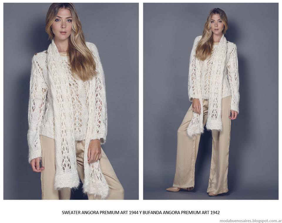 Sweaters invierno 2015 Agostina Bianchi.