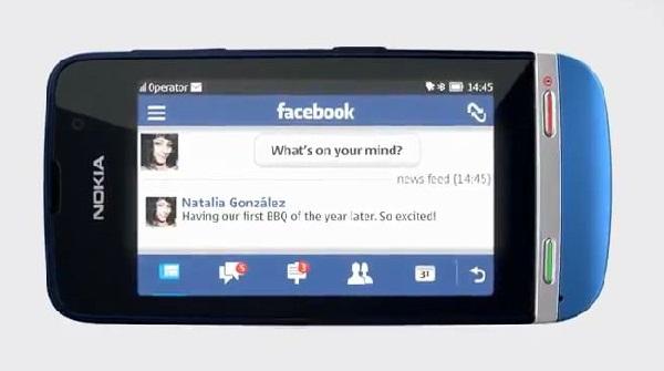 Nokia Asha 311 social networking