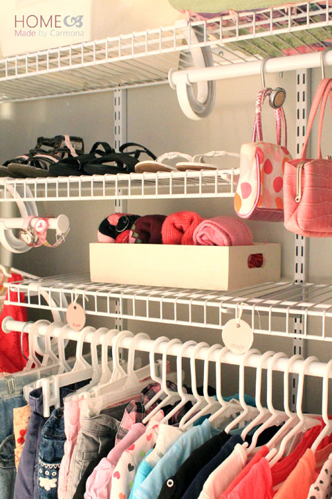 IHeart Organizing: Reader Space: A Pretty & Practical Girl's Closet