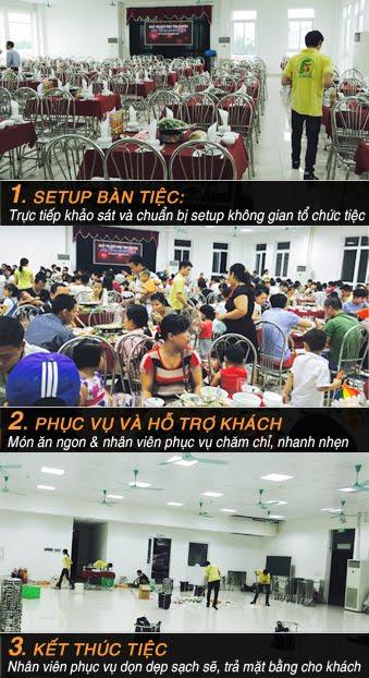 Dịch Vụ Trọn Gói - Tiệc Hưng Thịnh