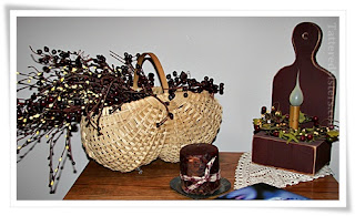 Pip Berries Basket and Lamp