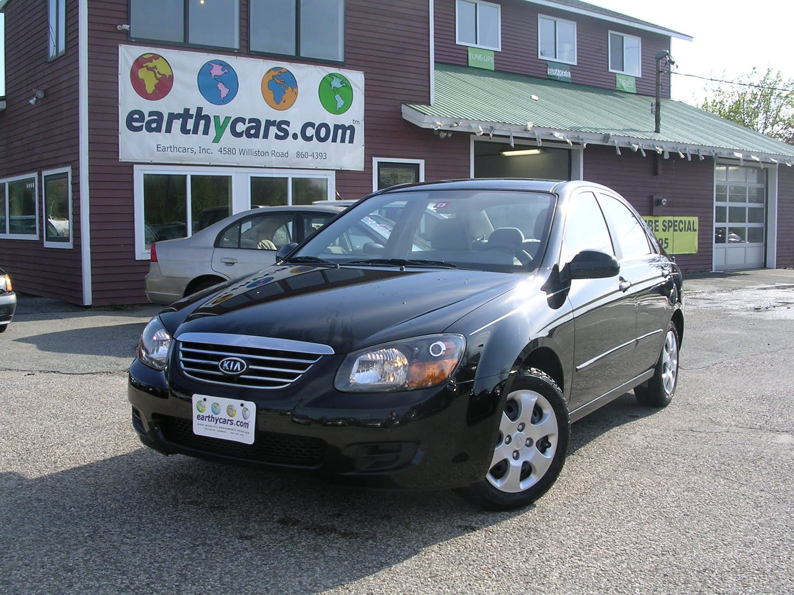 Earthy Cars Blog  EARTHY CAR OF THE WEEK  2009 Blue Kia Spectra