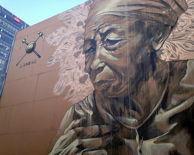 Street Art By Faith47 In Montreal, Canada. 3