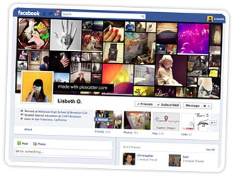 how to create a photo collage on facebook