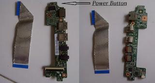 jual power button, power button laptop, jual power button asus 1215b 1215p 1215px
