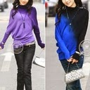 Ladies designer batwing sweaters