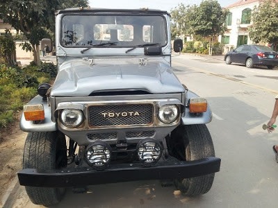 Jeep Toyota Land Cruiser Available In Pakistan