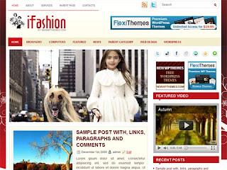 Beautiful iFashion Free for wordpress Theme